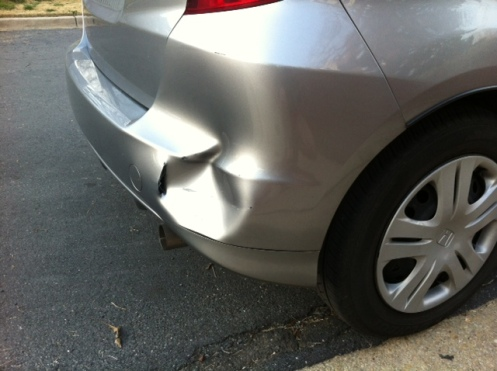 Karma is as karma does (aka An ode to the guy who hit my car)